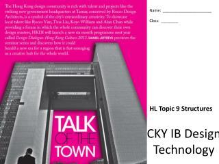 CKY IB Design Technology