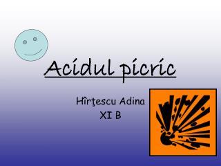 Acidul picric