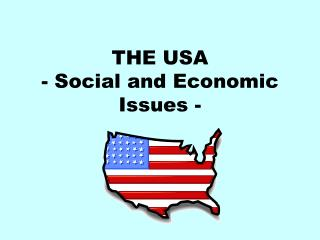 THE USA - Social and Economic Issues -