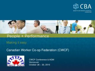 Making it easy Canadian Worker Co-op Federation (CWCF)