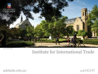 Institute for International Trade