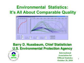 International Association for Official Statistics October 20, 2010