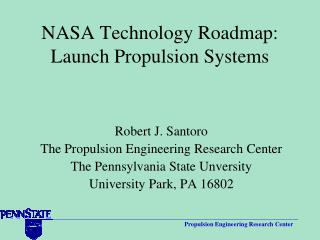 NASA Technology Roadmap: Launch Propulsion Systems