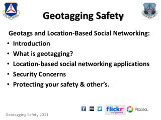 Geotagging Safety