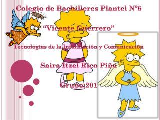 """Colegio de Bachilleres Plantel Nº6  """"Vicente Guerrero"""""""