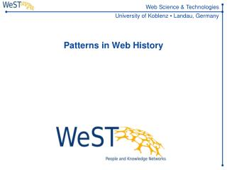 Patterns in Web  History