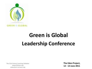 Green is Global  Leadership Conference