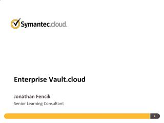 Enterprise Vault.cloud