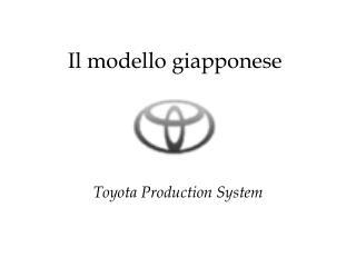 Il modello giapponese