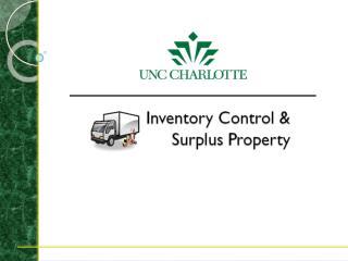 Purpose of Inventory Control