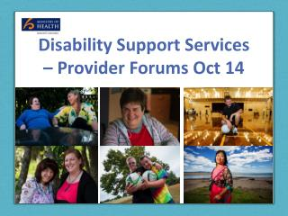 Disability Support Services – Provider Forums Oct 14
