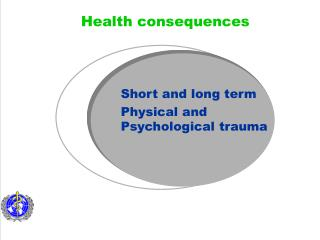 Short and long term  Physical and Psychological trauma