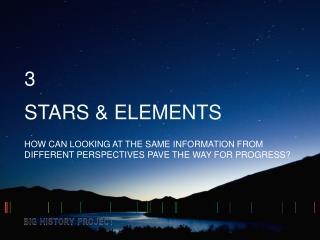STARS & ELEMENTS