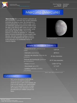 Mercúrio ( Mercure )