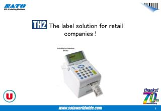 : The label solution for retail companies !