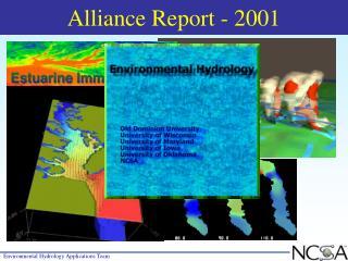 Alliance Report - 2001