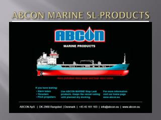 ABCON MARINE SL-PRODUCTS