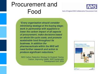 Procurement and Food