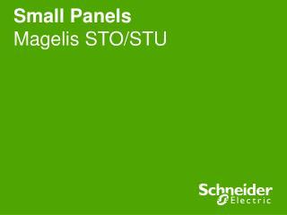 Small Panels Magelis STO/STU