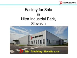 Factory for Sale  in  Nitra Industrial Park,  Slovakia