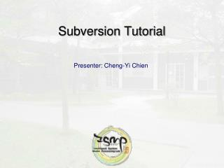 Subversion Tutorial