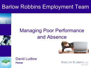 Barlow Robbins Employment Team