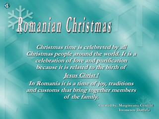 Romanian Christmas