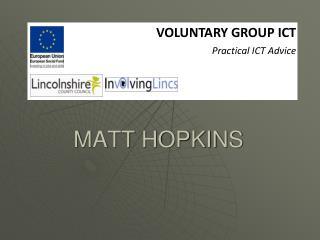 MATT HOPKINS