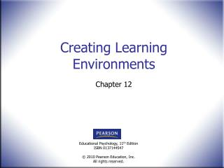 Creating Learning Environments