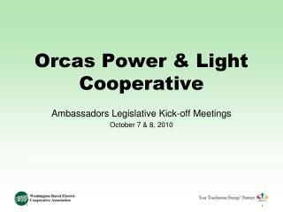 Orcas Power & Light Cooperative
