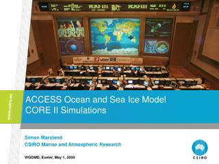 ACCESS Ocean and Sea Ice Model CORE II Simulations
