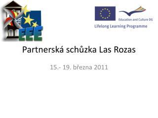 Partnerská schůzka Las Rozas