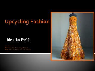 Ideas for FACS