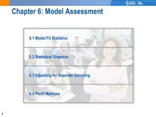 Chapter 6: Model Assessment