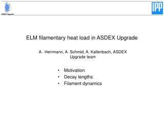 ELM filamentary heat load in ASDEX Upgrade