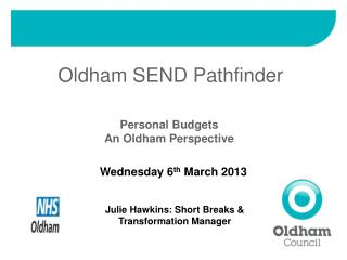 Oldham SEND Pathfinder