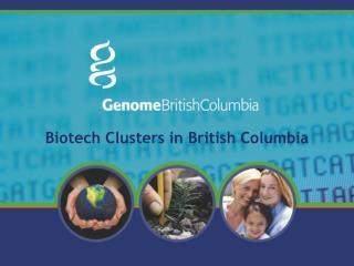 Biotech Clusters in British Columbia
