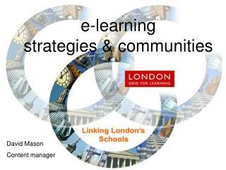 e-learning strategies & communities