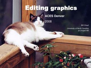Editing  graphics