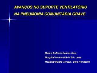 Marco Antônio Soares Reis Hospital Universitário São José Hospital Madre Teresa / Belo Horizonte