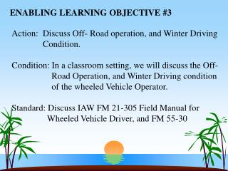 ENABLING LEARNING OBJECTIVE 3