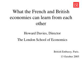 What the French and British economies can learn from each other