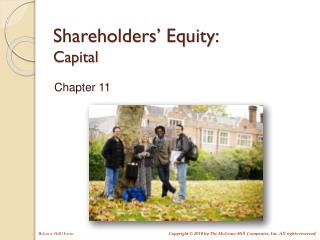 Shareholders' Equity: Capital