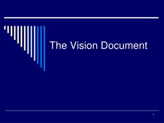 The Vision Document