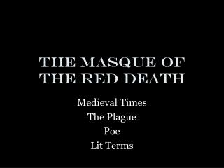 the symbolism of color number and name in the masque of the red death by edgar allan poe Interpreting symbols in poe's the masque of the red death: symbolism the masque of the red death' edgar allan poe symbolism already in color red.
