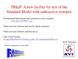 Fundamental interactions and symmetries at low energies what does NUPECC say….