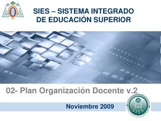 02- Plan Organización Docente v.2