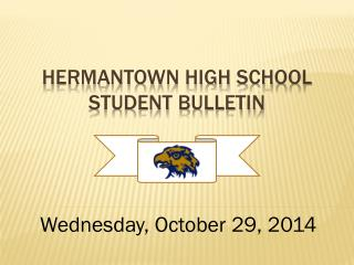 Hermantown High School  Student Bulletin