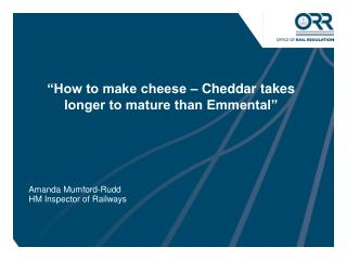 """How to make cheese – Cheddar takes longer to mature than Emmental"""