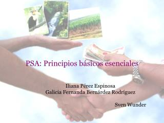 PSA: Principios básicos esenciales